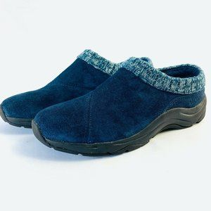 Vionic Action Arbor Clogs Suede Leather Comfort